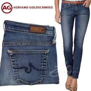 AG jeans Stevie Slim Straight 27 x 31 Goldschmied